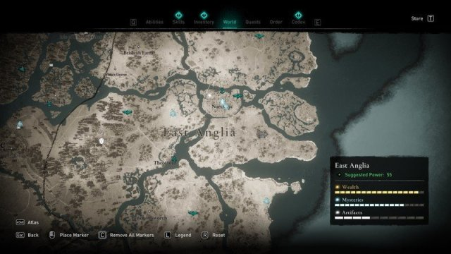Assassins Creed Valhalla Statue Of Lerion Location