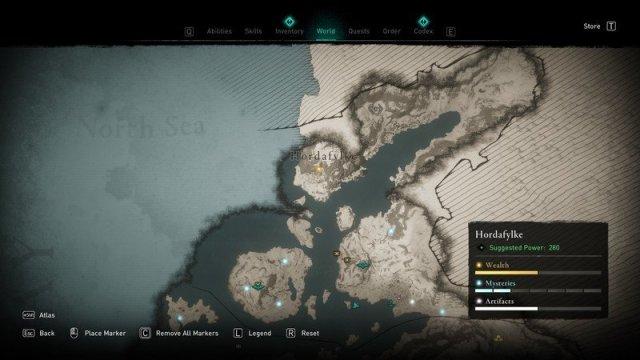 Assassins Creed Valhalla Mjolnir Location