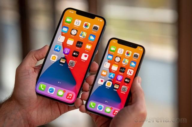 iPhone 12 Pro Max and iPhone 12 mini
