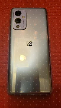 OnePlus 9 5G from the back