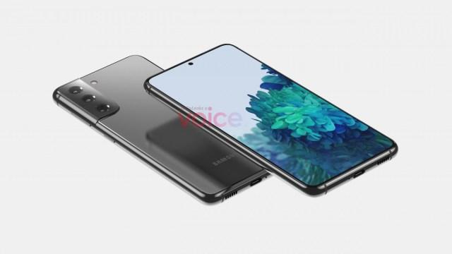 Galaxy S21 5G render leaked by OnLeaks