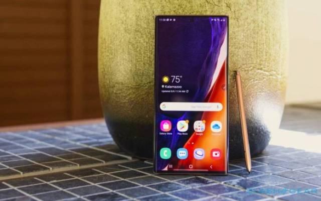 Samsung Galaxy S21 Ultra S Pen support
