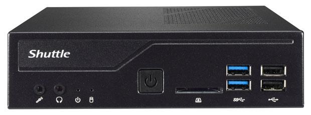 Mini-PC XPC slim DH410 de Shuttle