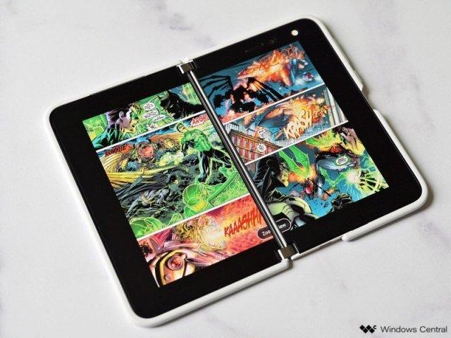 Surface Duo Comics