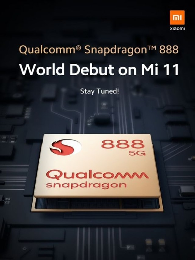 Xiaomi Mi 11 to be the world's first phone with Snapdragon 888, Redmi tags along