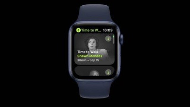 time to walk apple watch