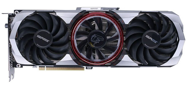 l'iGame GeForce RTX 3060 Ti Advanced OC