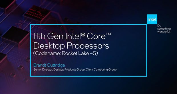 Processeur Core Rocket Lake-S d'Intel
