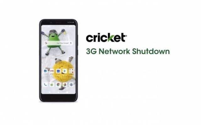 Cricket Wireless 3G Network Shutdown