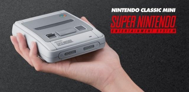 Une Super NES Mini arrivera en France le 29 septembre