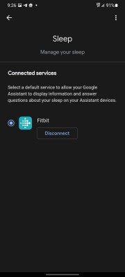 The new Wellness feature integrates Fitbit data into the Google Assistant