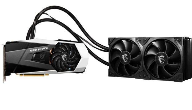 GeForce RTX 30 SeaHawk X de MSI