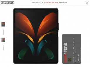 Size comparison with a credit card