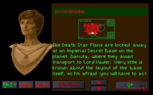 Star Wars Dark Forces Gameplay Screenshot