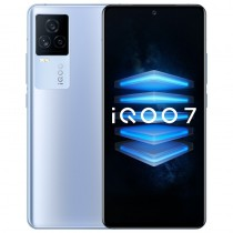 iQOO 7 in blue, black and white