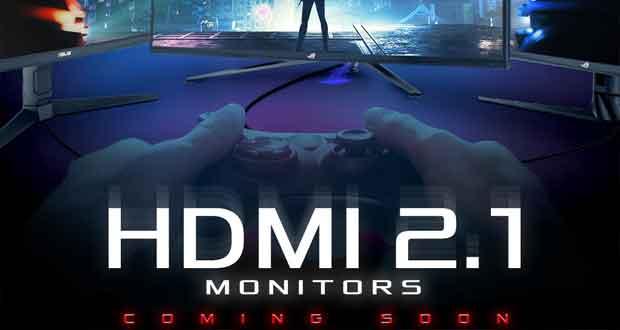 Asus annonce des moniteurs gaming compatibles avec l'HDMI 2.1