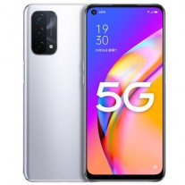 Oppo A93 5G in Silver color