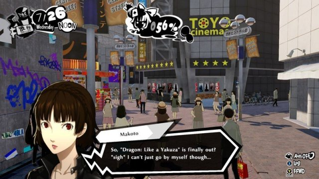 Persona 5 Strikers Gathering Info