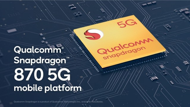 Qualcomm reclaims the clock speed title with the Snapdragon 870 5G chipset and its 3.2 GHz CPU
