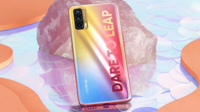 Realme X7 image shared by Madhav Sheth