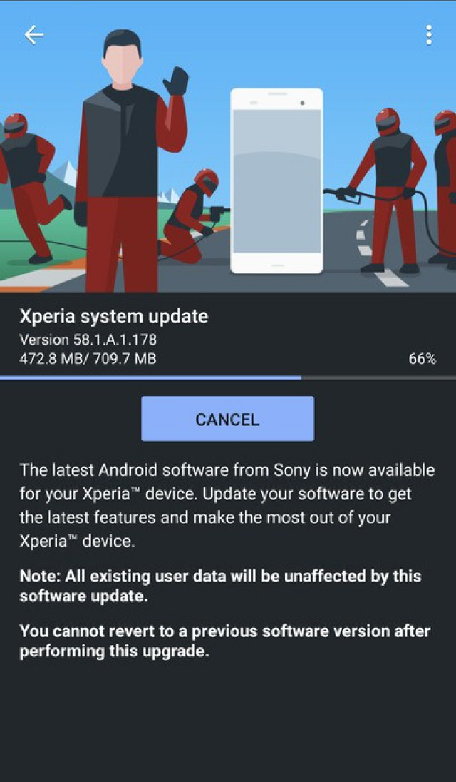 Android 11 update for Xperia 5 II