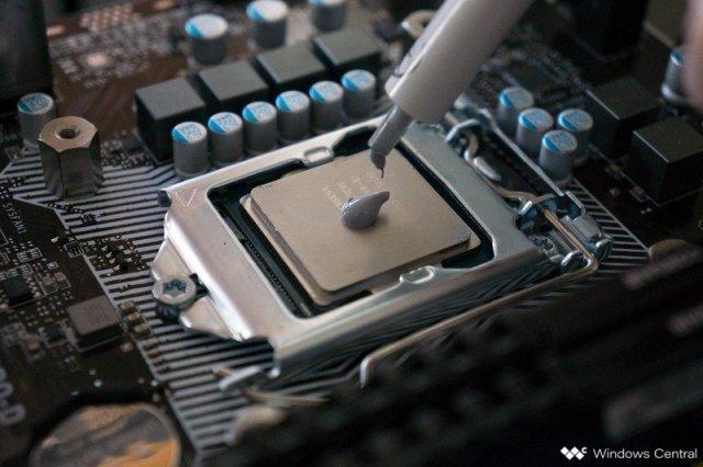 Intel CPU Paste