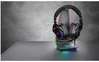ARGENT HS1 RGB headset stand
