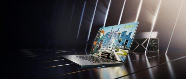 NVIDIA GeForce RTX 30 Laptop Render