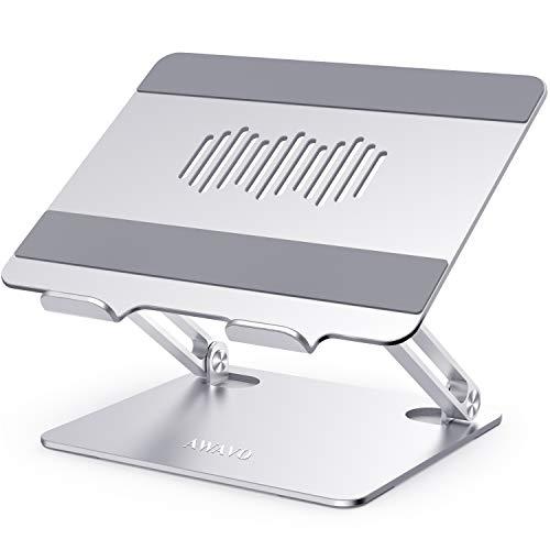 41xZBg8r9rL - TopWork, Support MacBook avec Hub USB-C 11 en 1 et Chargeur Induction