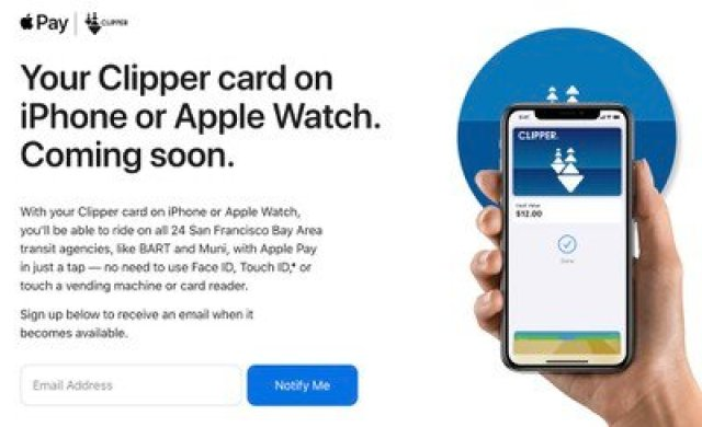 apple pay clipper card express transit