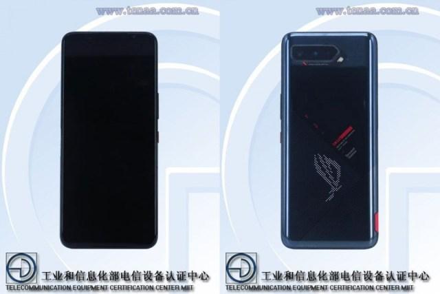 Asus ROG Phone 5 on TENAA