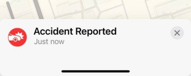 accident reported ios 14 5
