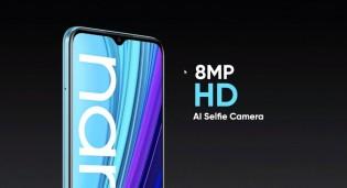 8 MP selfie camera