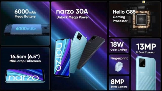 Realme unveils Narzo 30 Pro, its first 5G phone and first with a 120 Hz screen, plus the Narzo 30A
