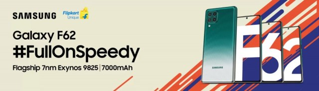 Samsung Galaxy F62 confirmed to feature 64MP camera