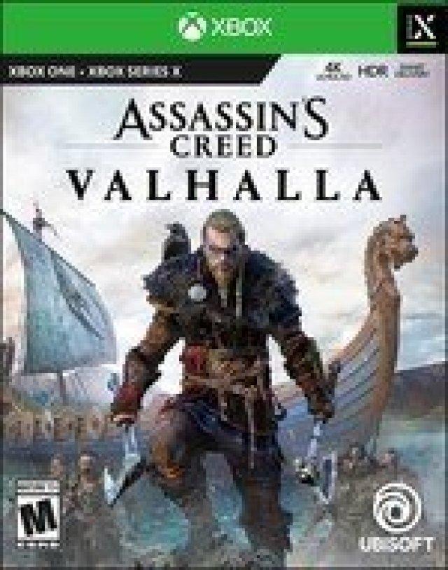 Assassins Creed Valhalla Box Art Xbox Series X