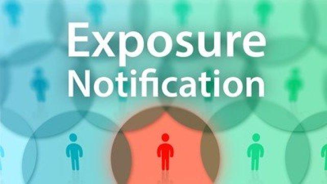 exposure notification cartoon