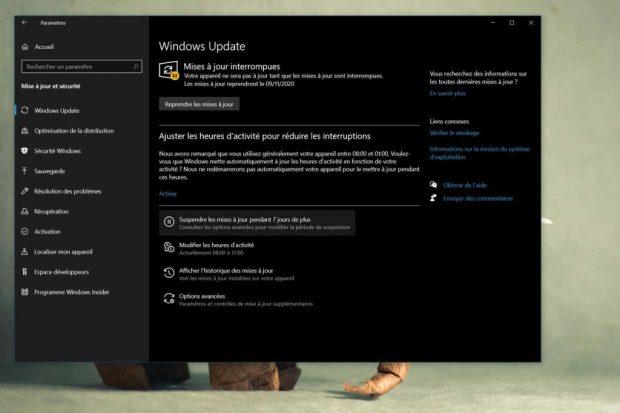 Windows 10 et le service Windows Update