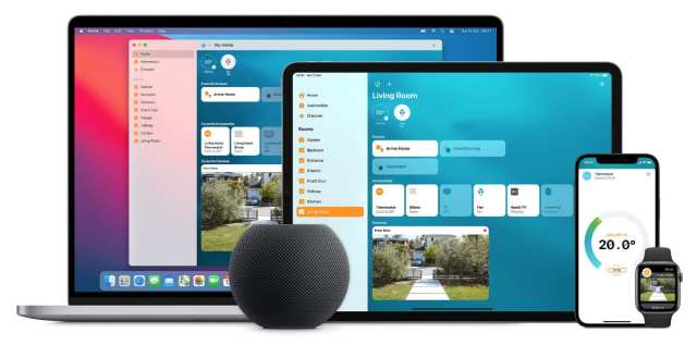 Apple devices using Home app