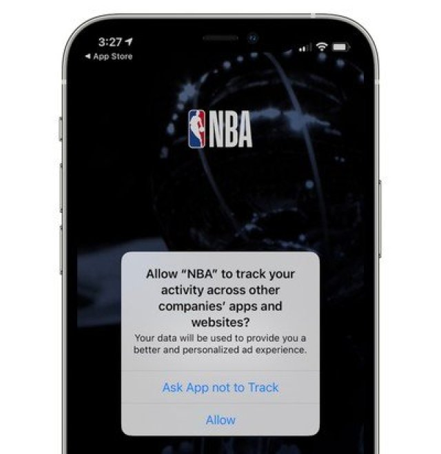 app tracking transparency prompt ios 14
