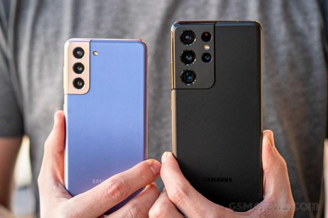 Sales of Samsung Galaxy S21 phones reach a four-year high