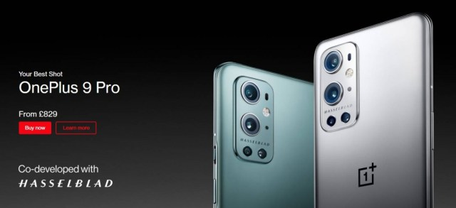 OnePlus 9 Pro 5G is now on sale in most regions