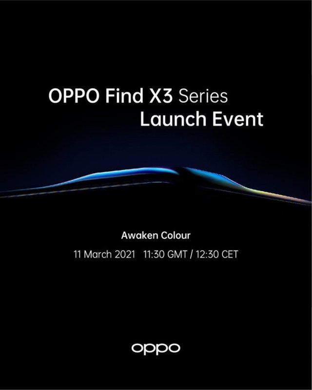 Oppo Find X3 Pro launch date officially confirmed - March 11