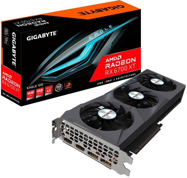 Carte graphique Radeon RX 6700 XT Gaming OC de Gigabyte