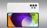 Samsung Galaxy A52 cameras detailed