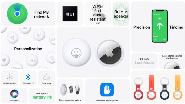 Apple AirTag finally arrives for $29, uses Ultra-wideband and does Emoji