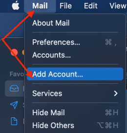 Apple-Mail-add-account