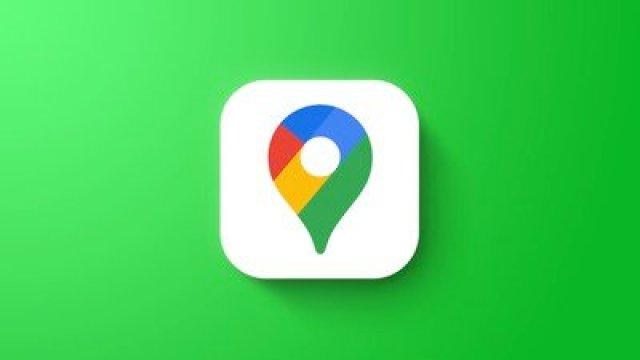 Google maps feaure green