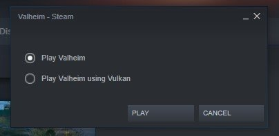 Valheim Vulkan Setting