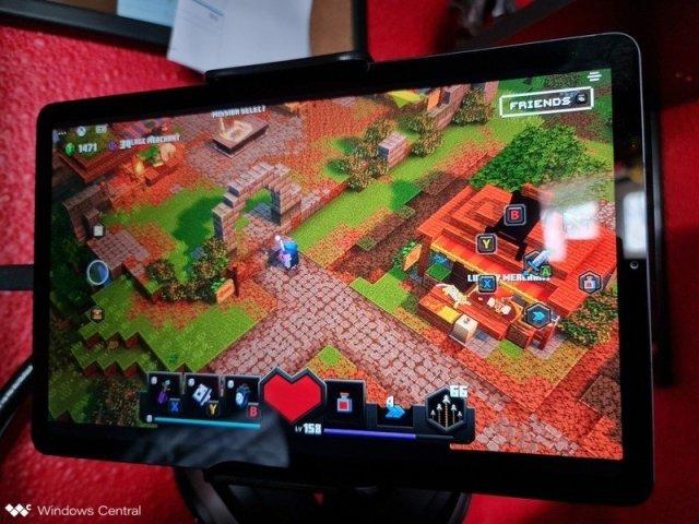 Minecraft Dungeons Tablet
